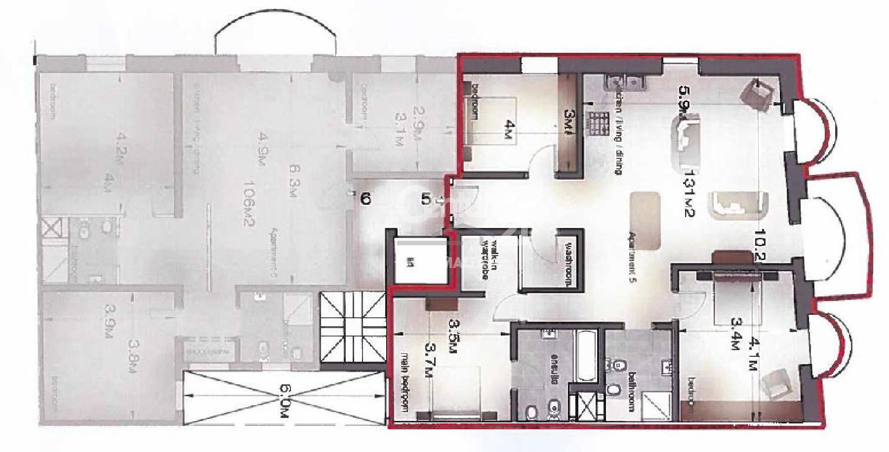 007AT09571–Finished Apartment