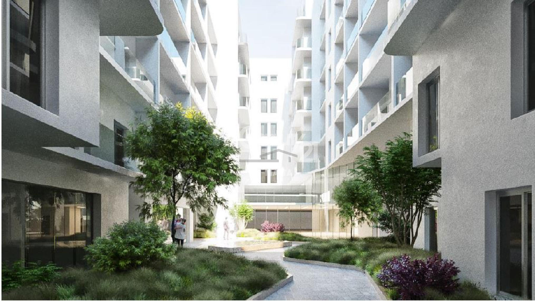 011CF11161–Finished Block of Apartments