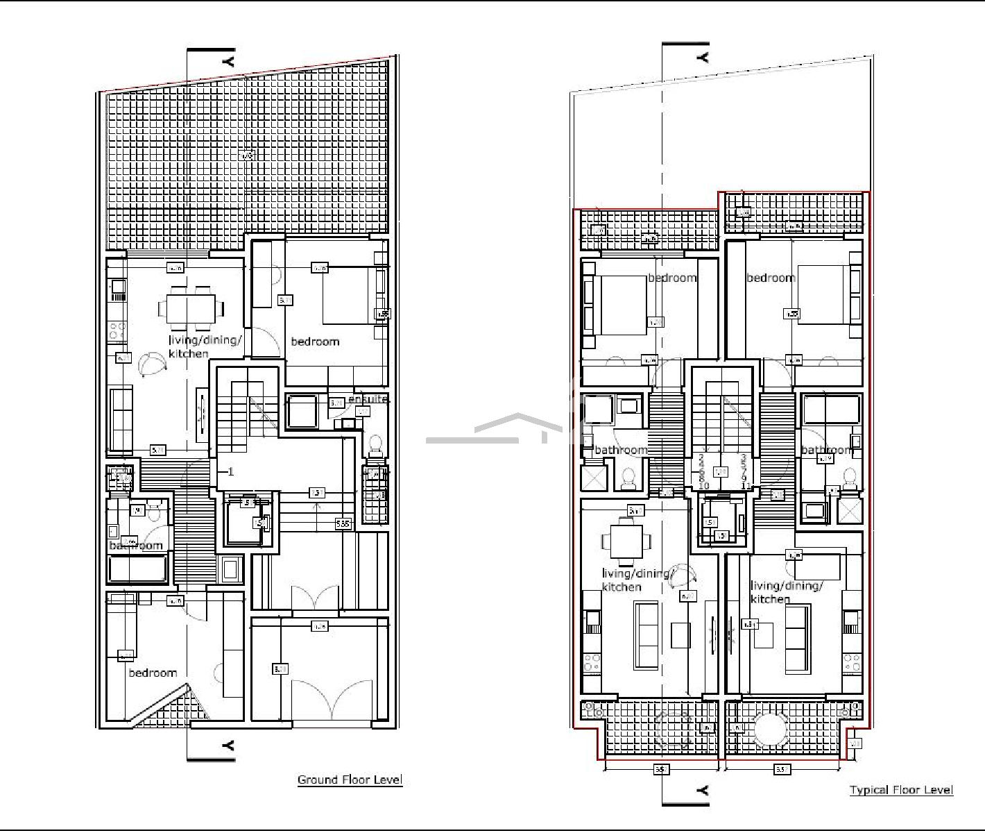 013CF10111–Finished Apartment