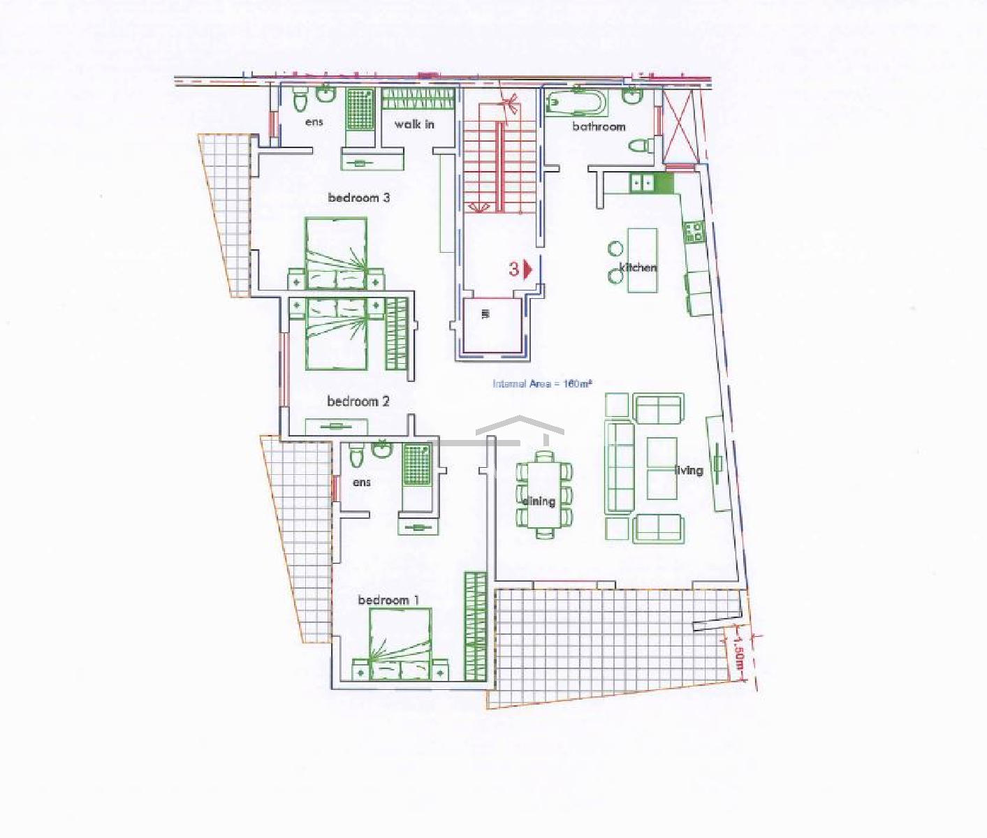 013CF10321–Finished Apartment