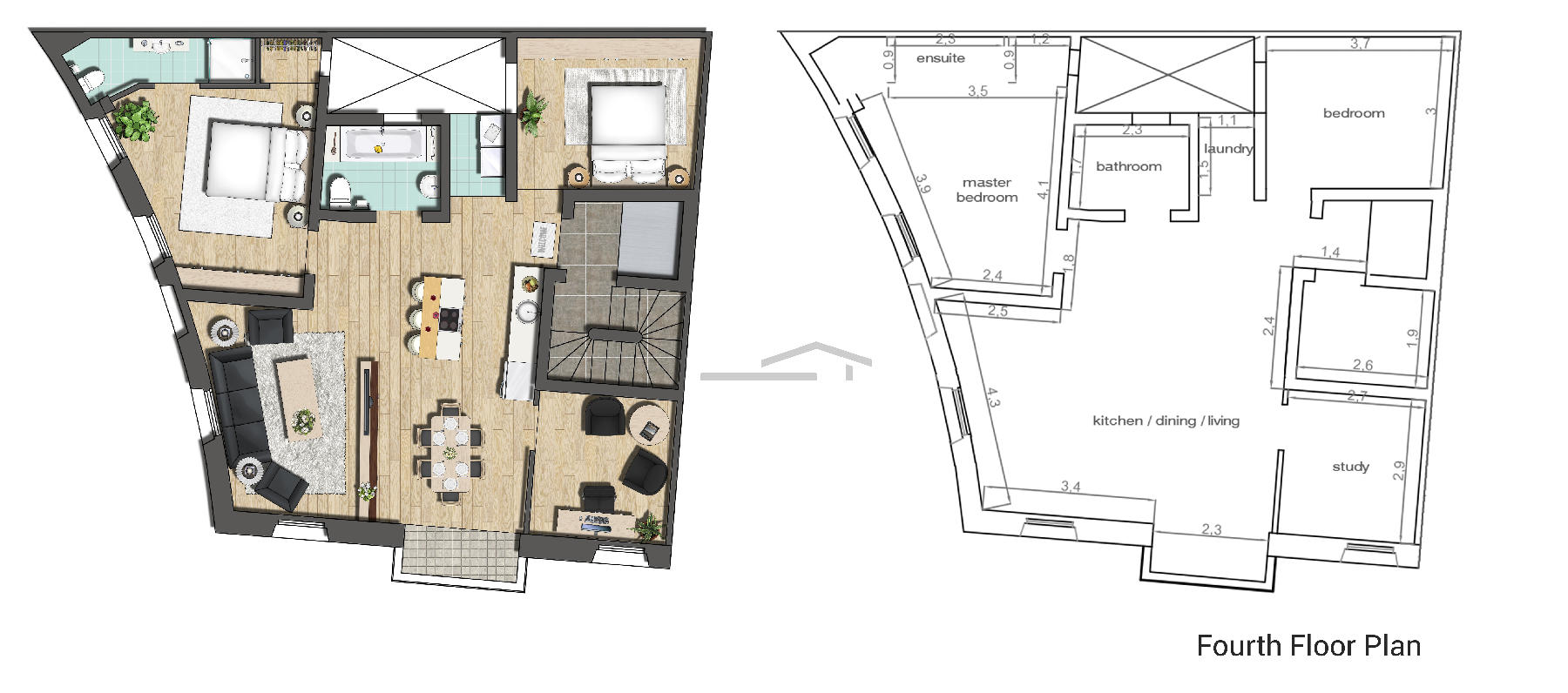 013CF10476–Finished Apartment