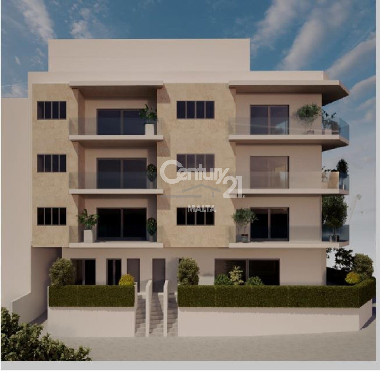 013CF11133–Finished Block of Apartments