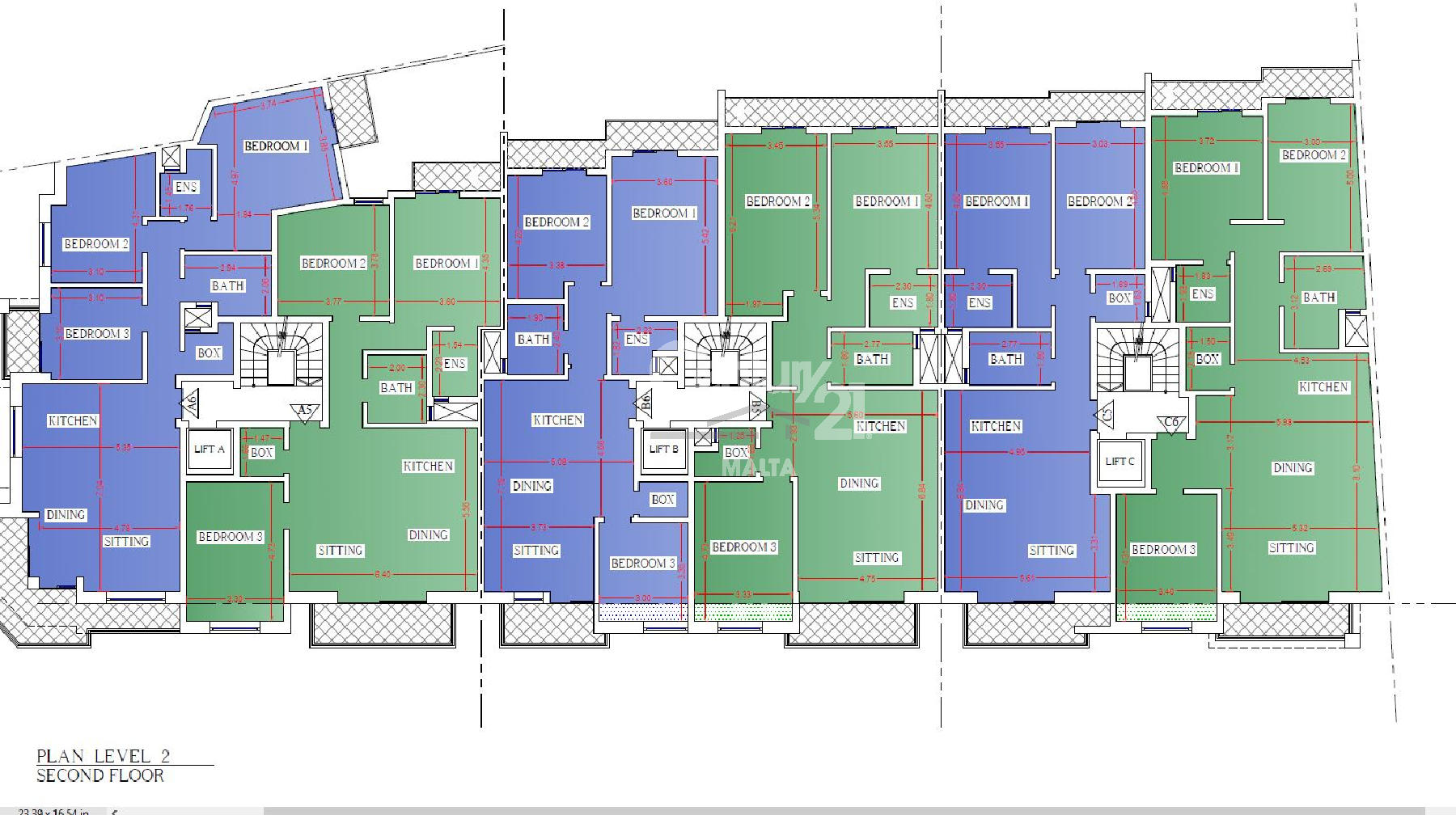 019CF10559–Finished Apartment