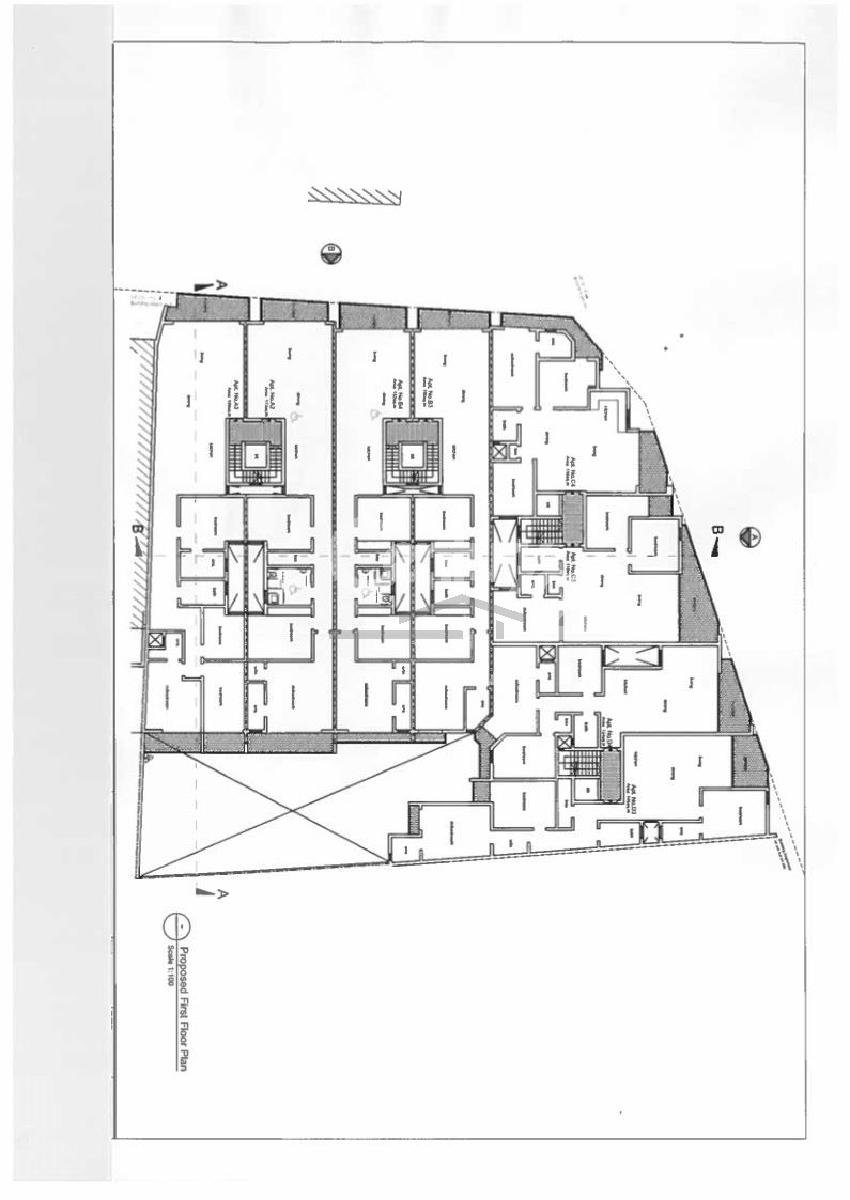 019CF11452–Finished Block of Apartments