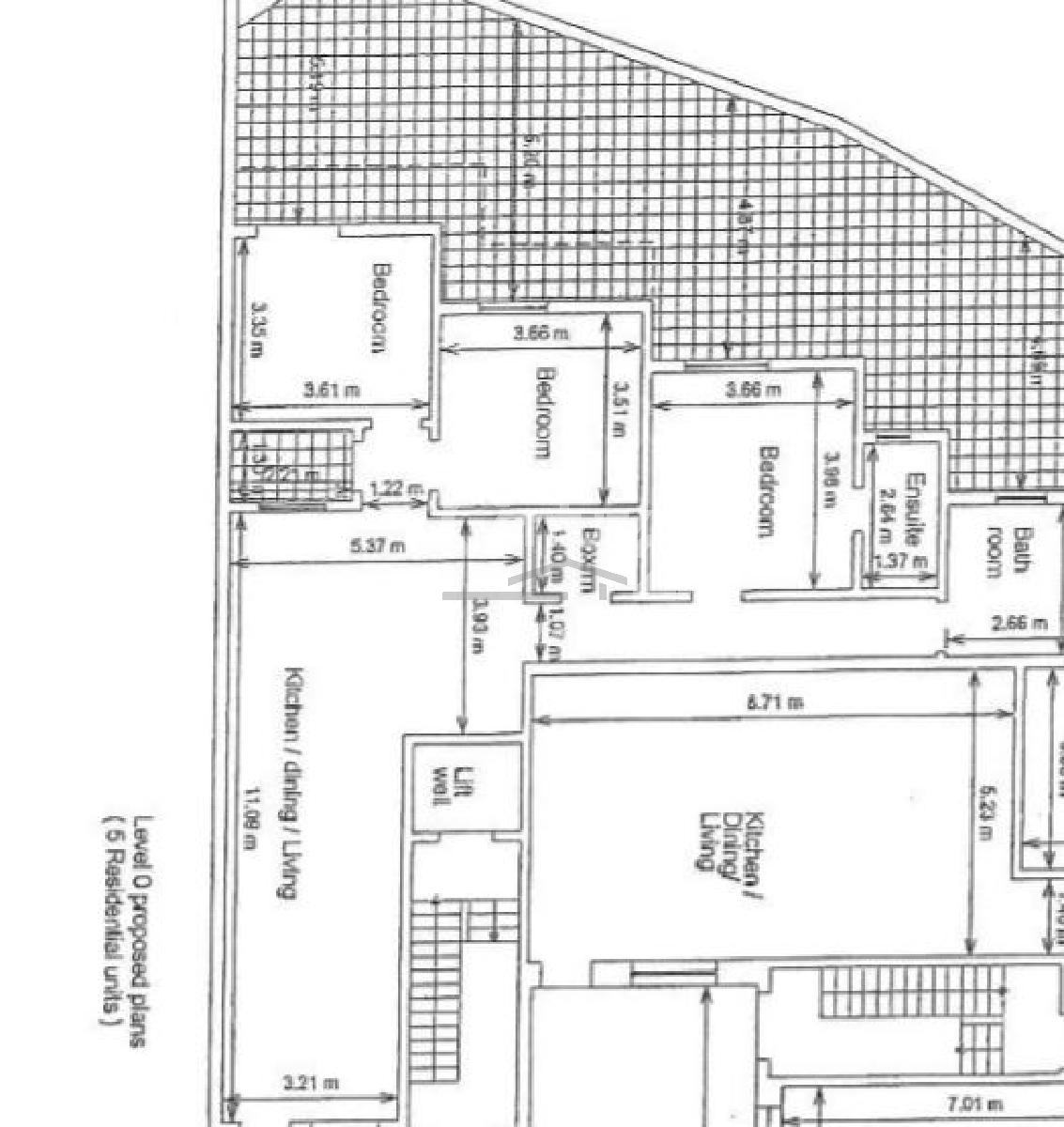 031CP10047–On plan Block of Apartments