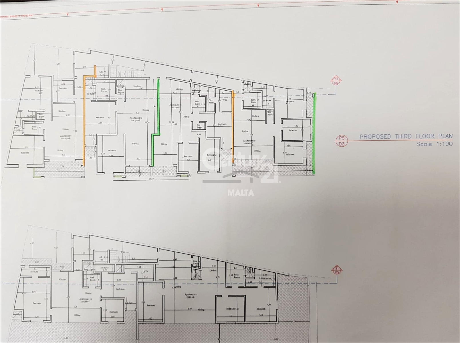 048FG00501–On plan Apartment