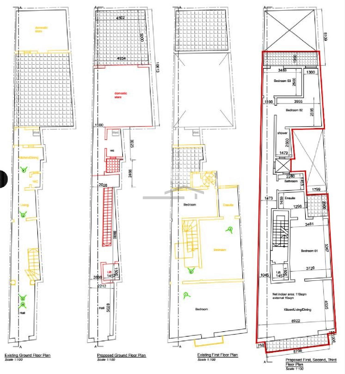 PAFFG00368–On plan Duplex Apartment